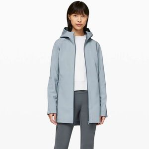Lululemon Glyde Along Softshell - Chambray blue